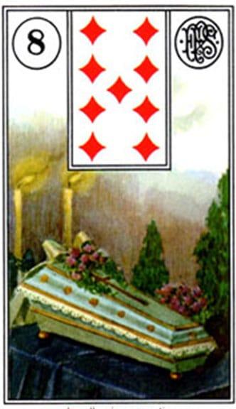 Carta zingara 11: La Bara - Tarocchi della Zingara