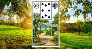 Carta zingara 20: Il giardino. Scoprire i significati della carta