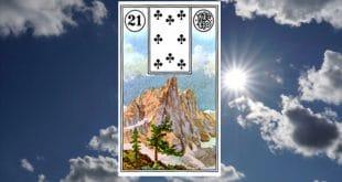 Carta zingara 21: la montagna. Scoprire i significati della carta