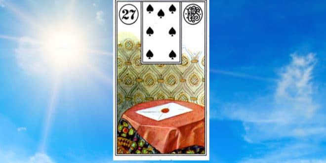 Carta zingara 27: La Lettera. Scoprire i significati della carta