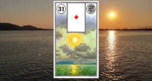Carta zingara 31: Il sole. Scoprire i significati della carta