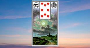 Carta Gitana 32 La Luna Tarot Gitano Descubre los significados