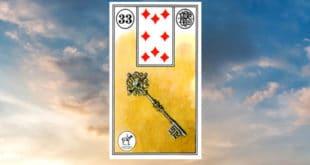 Carta zingara 33: La chiave. Scoprire i significati della carta
