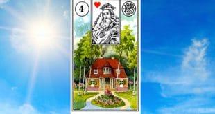 Carta Zingara 4: La Casa. Scoprire i significati della carta