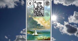 Carta zingara 6: le nuvole nel Tarocchi della Zingara. Scopri i significati di questa carta.