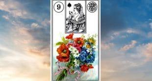 Carta zingara 9: Il bouquet o i fiori. Scoprire il significato della carta