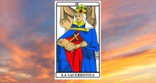 Carta dei Tarocchi La Sacerdotessa- Arcano II. Significato e combinazioni
