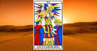 La carta dei tarocchi Gli Amanti - Arcano VI. Significato e combinazioni