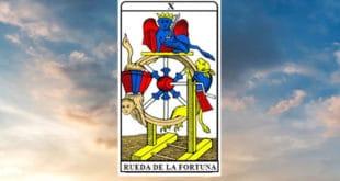 Carta dei Tarocchi La Ruota della Fortuna - Arcano X. Significato e combinazioni