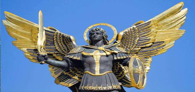 Arcangelo Michele Kiev - Tarocchi degli angeli