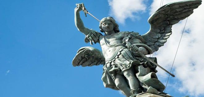 San Michele Arcangelo Roma - Tarocchi degli Angeli